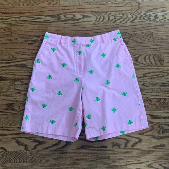 Lilly Pulitzer Pants - Lily Pullitzer Embroidered Bee Shorts - Size 10